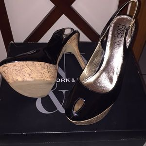 58 and lex by NY&Co heels
